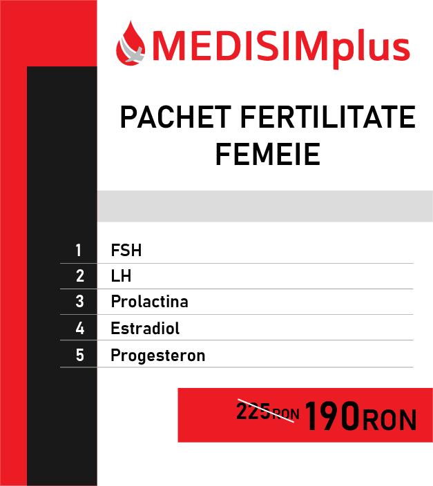 Pachet fertilitate femeie