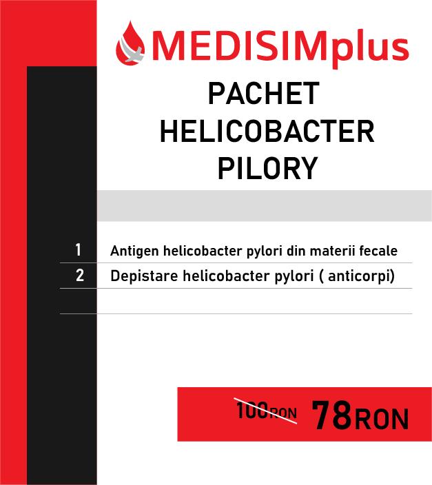Pachet helicobactr pylori
