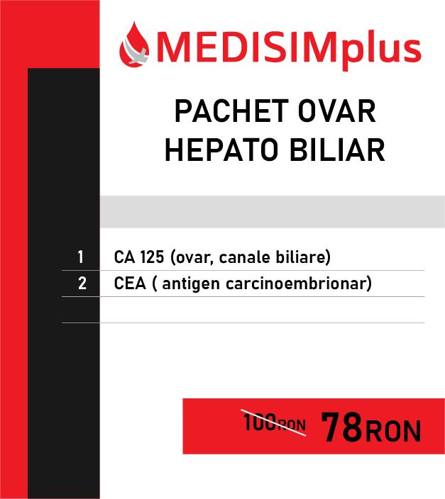 Profil ovar - hepato biliar